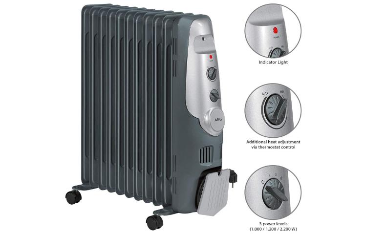 caracteristicas radiador electrico aeg ra 5522
