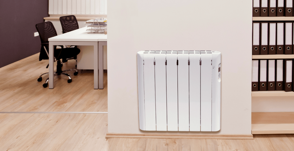 radiador electrico de pared