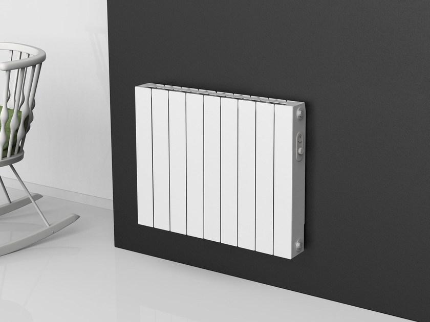 radiador electrico en la pared