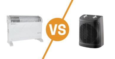 Diferencia entre convector y calefactor